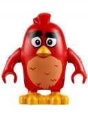 Lego Figur Angry Birds Figs - Red 75822