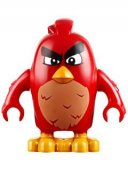 Lego Figur Angry Birds Figs - Red Angry 75823