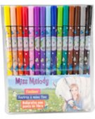 Miss Melody Häst 15-pack Fineliner pennor