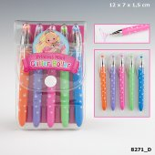 My Style Princess Mini Glitter Roller Glitterpennor 5-Pack