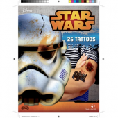 Disney Star Wars Tatueringar Tattoo 25st
