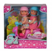 Leksaker Docka Dolls Evi Love - Scooter Fun