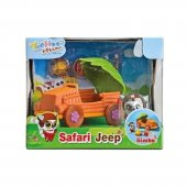 Simba Leksaker - Yoohoo & Friends Safari Jeep Set