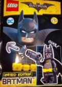 LEGO Batman Figur Batman Svart Limited Edition 211803 FP