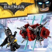 LEGO Figur Batman Svart Phantom Zone Limited Edition 30522