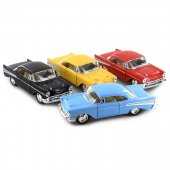 Bilar Cars metall 1:43 Chevrolet Bel Air 1957 12cm