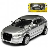 Alrico Bilar 1:43 Cars 139 metall City Licens 1. Audi A3 Silver