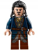 Lego Figur Sagan om ringen Hobbit Bard the Bowman Blue Brown LF25-11