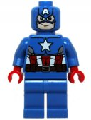 LEGO Superheroes Avengers Marvel - Captain America Blue Suit