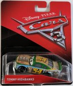 Disney Cars 3 Bilar Pixar Mattel Metall bil - Tommy Highbanks 54 FP