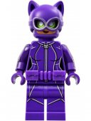 Lego Figurer Batman Catwoman Utility Belt lila Bat 3