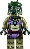 Lego Figur Figurer Chima - Crooler Purple Green