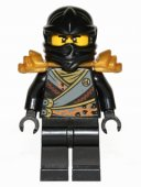 LEGO Ninjago - Black Cole Rebooted with Armor BL3