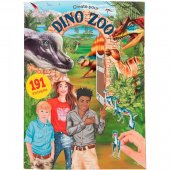 Create Your Dino Zoo Dinosaurier Stor pysselbok 191st stickers