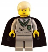 Lego Figurer Harry Potter Draco Malfoy Grå klassisk