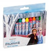 VN Disney Frost Film nr 2 Frozen Pyssel Crayons Kritor 12-Pack