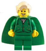 Lego Figurer Harry Potter Gilderoy Lockhart Grön