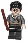 Lego Figurer Harry Potter Mörkgrå 2010