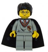 Lego Figurer Harry Potter Harry Potter Grå Klassisk