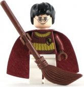 Lego Figurer Harry Potter Quidditch 2010 Vinröd