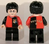 Lego Figurer Harry Potter Svart/röd  Tournament