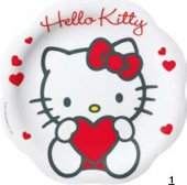 Kalas Tallrik Plast Hello Kitty