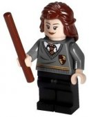 Lego Figurer Harry Potter Hermione mörkgrå 2010