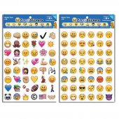 Hobby Pyssel Stickers Emoji Smileys 912 st Stickers