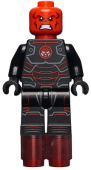 Lego Figurer Marvel Superheroes - Iron Skull Black Red bat 10
