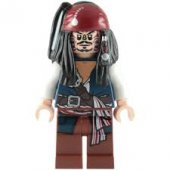 Lego Pirates Of The Caribbean Jack Sparrow Cannibal BL2