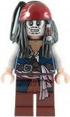 Lego Figur Pirates Of The Caribbean Jack Sparrow Skeleton skelett LF20-1