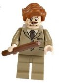 Lego Figurer Harry Potter Professor Lupin Brun
