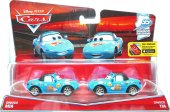 Disney World Of Cars Bilar Mattel Mia Tia Dinoco Fans