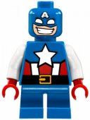 lego Figur Superheroes MIGHTY MICROS Captain America LF1L