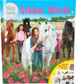 Miss Melody pyssel Häst Stickers - Sticker World Stor 317st