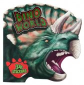 Motto - Dino World Pysselbok med 34st Dinosaurie Stickers