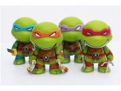 TMNT 4-Pack Teenage Mutant Ninja Turtles 7cm