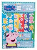 Peppa Pig Greta Gris - Pyssel Stickers Fun Stickers med album