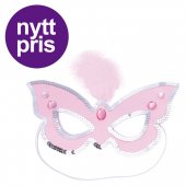 Robetoy Prinsess mask Princess Mask Rosa Butterfly