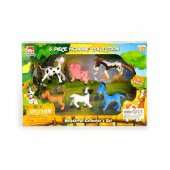 Leksaker Figurer Farm Animals Cartoons 6-Pack Roliga djur 41531
