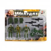 Robetoy Figurer Warfare Collection Militärer Military Mc Set 62614