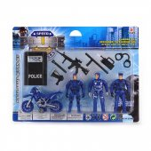 Robetoy Figurer Collection Set Polis Police Polismän 62613