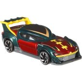 Dinotoys Hot Wheels DC Batman Cars Bilar metall ROBIN 2.0T FP