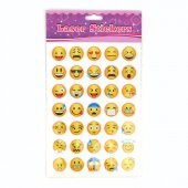 Robetoy Pyssel Stickers Emoji Smileys 70st Stickers 2-3 cm