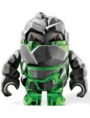 Lego Figur - Rock Monster - Rock Monster Boulderax Grön LF20-9