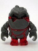 Lego Figur - Rock Monster - Rock Monster Meltrox Röd LF20-10