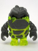 Lego Figur - Rock Monster - Rock Monster Sulfirix Neon gul LF20-12