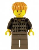 Lego Figurer Harry Potter Ron Svart Klassisk