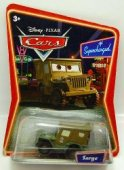 Disney Cars Bilar Supercharged Mattel Sarge Jeepen