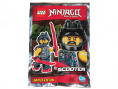 LEGO Ninjago Figur - Scooter 891836 Limited Edition FP